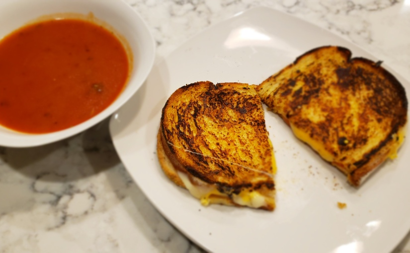 Fancy Grilled Cheese & Tomato Soup